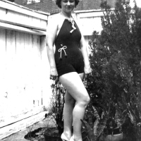 A Woman In A Bathing Suit